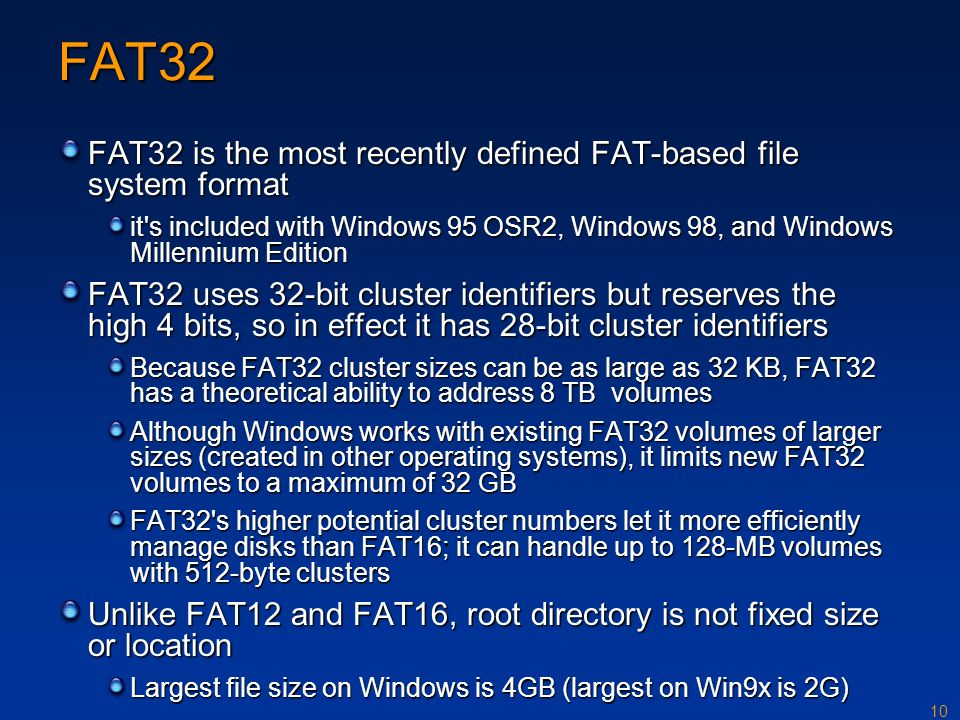Ntfs ppt download for Window is not defined