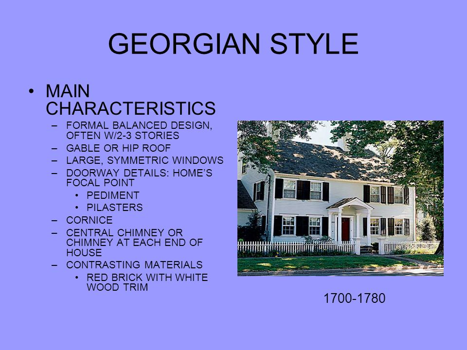 Chapter 15 18th 19th And 20th Century Homes Ppt Video