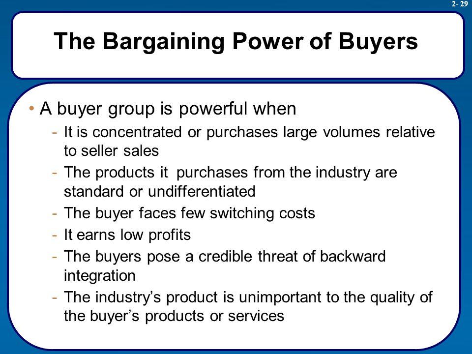 retailing and bargaining power