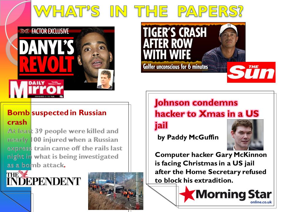 WHAT'S IN THE PAPERS Johnson condemns hacker to Xmas in a US jail