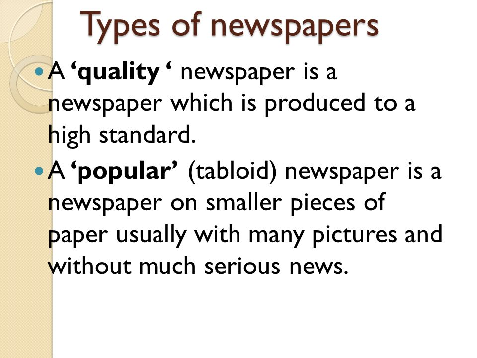 comparison of serious and tabloid press A sensible international comparison would also conclude that tabloid content simply appears in different guises and platforms in other countries but i am going to go for a snappier answer i think the tabloid mentality is a vital part of of press freedom in britain.