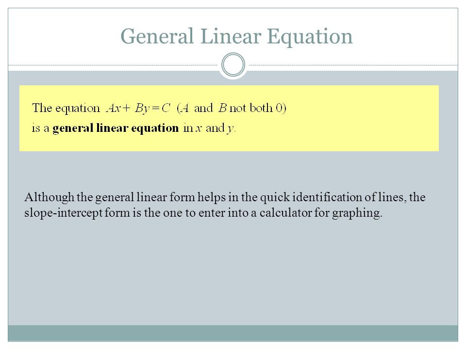 Chapter 1: Prerequisites for Calculus Section Lines - ppt video ...