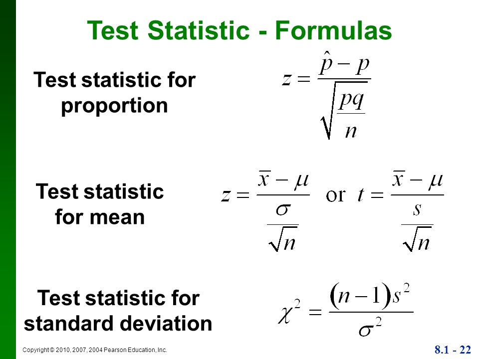 how to choose statistical test