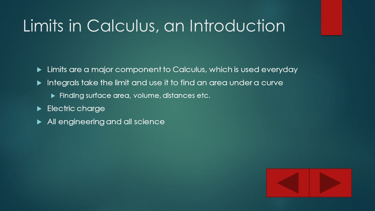 limits in calculus When your pre-calculus teacher asks you to find the limit of a function algebraically, you have four techniques to choose from: plugging in the x value, factoring, rationalizing the numerator, and finding the lowest common denominator.