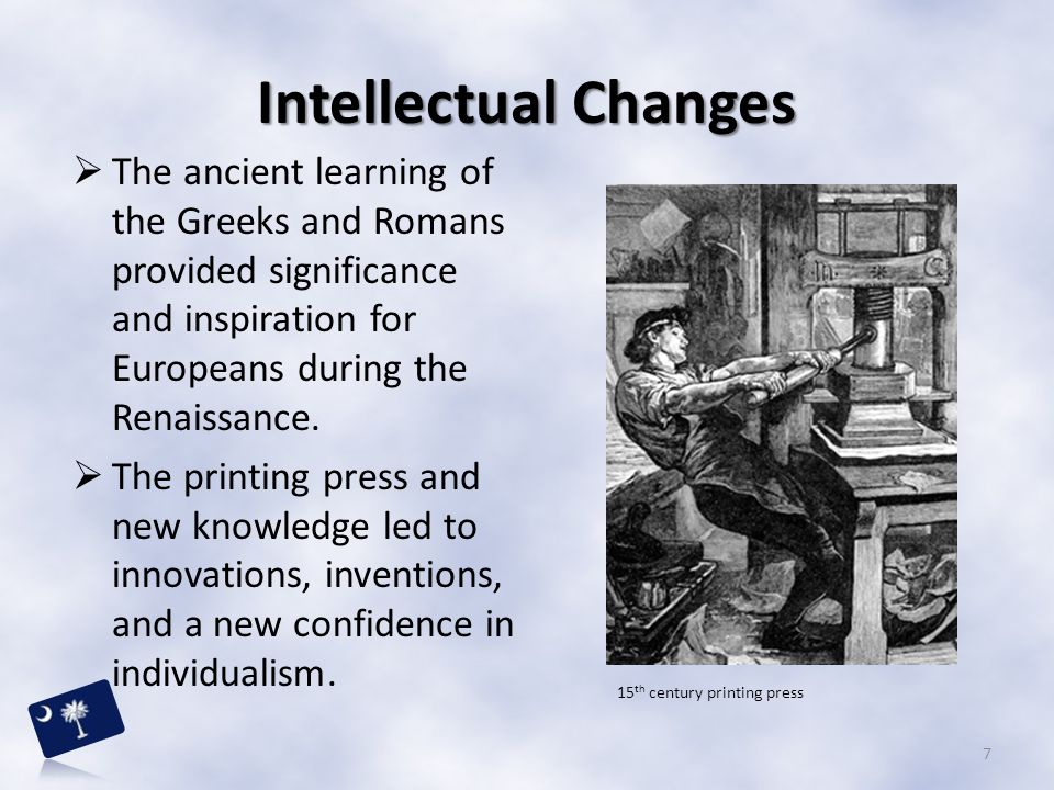 the significance of the printing press to the occurrence of the renaissance The main significance of the renaissance was the revival of ancient learning lost or destroyed during the barbarian raids of the dark ages or banned by the catholic church during the middle ages in europe.