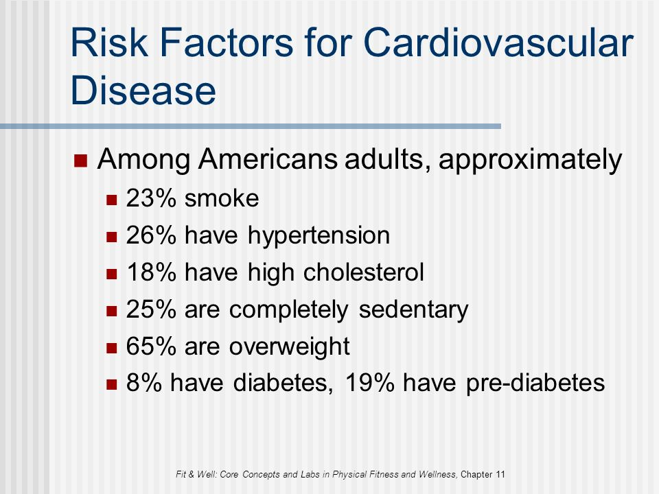 an overview of the risk factors for cardiovascular disease Coronary heart disease risk factors are conditions or habits that raise your risk of coronary blocked blood flow to the heart muscle causes a heart attack overview.