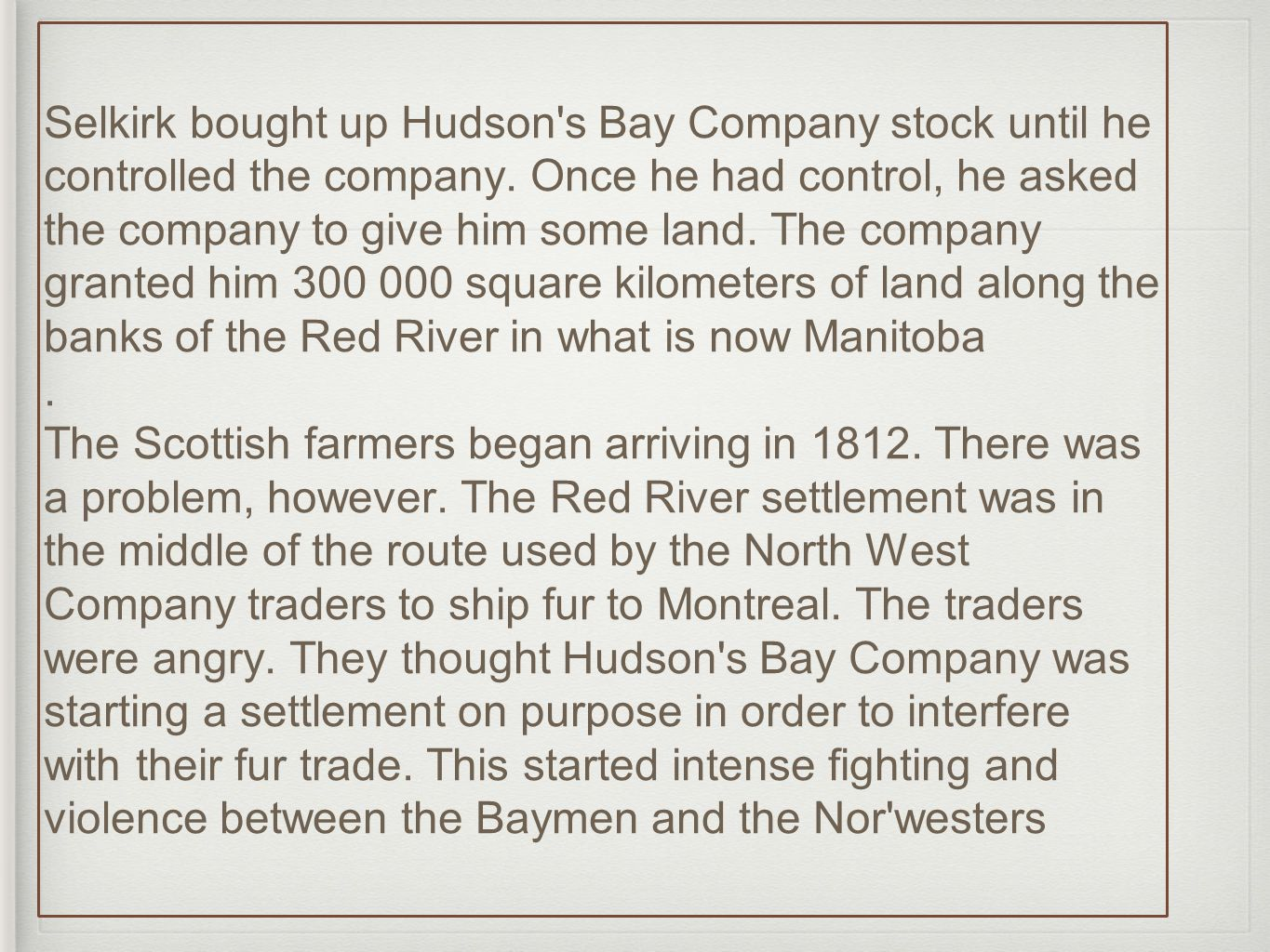 Indians with pierre esprit radisson and medard chouart sieur des selkirk bought up hudson s bay company stock until he controlled the company buycottarizona Choice Image