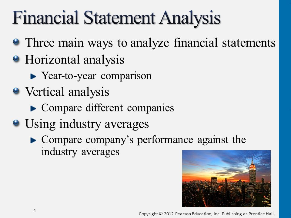 Financial Statement Analysis  Ppt Download