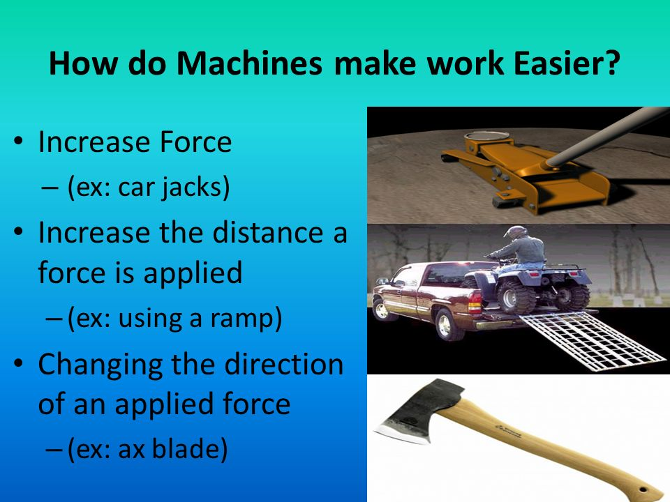 How Does A Pulley Make Work Easier : Energy and machines physical science ppt download