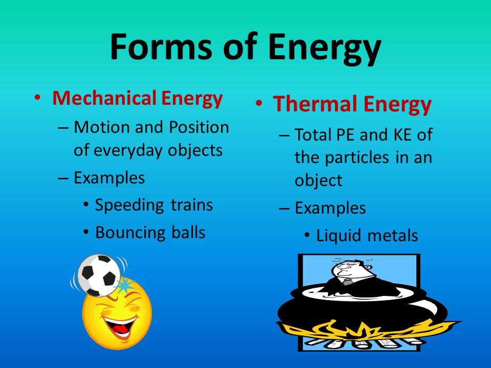 Forms Of Mechanical Energy Ace Energy