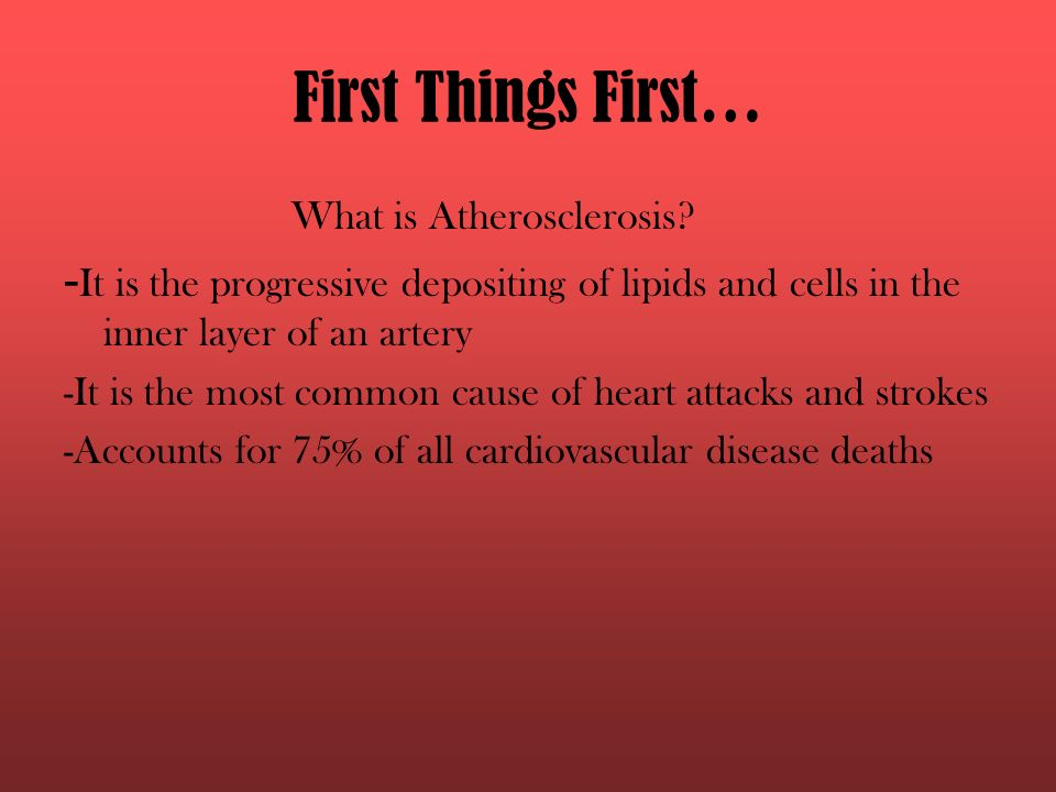 the biology of atherosclerosis, heart attacks and strokes - ppt, Human Body