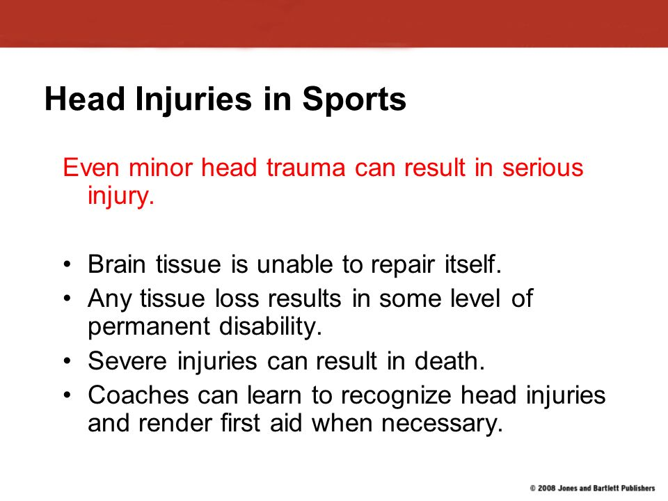 sports head injuries articles
