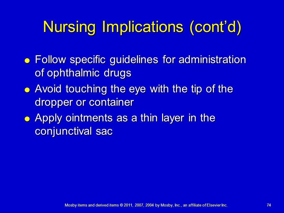 nursing guidelines for medication administration