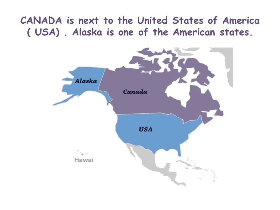 CANADA Is In The Northern Hemisphere In North America Ppt - Usa hemisphere