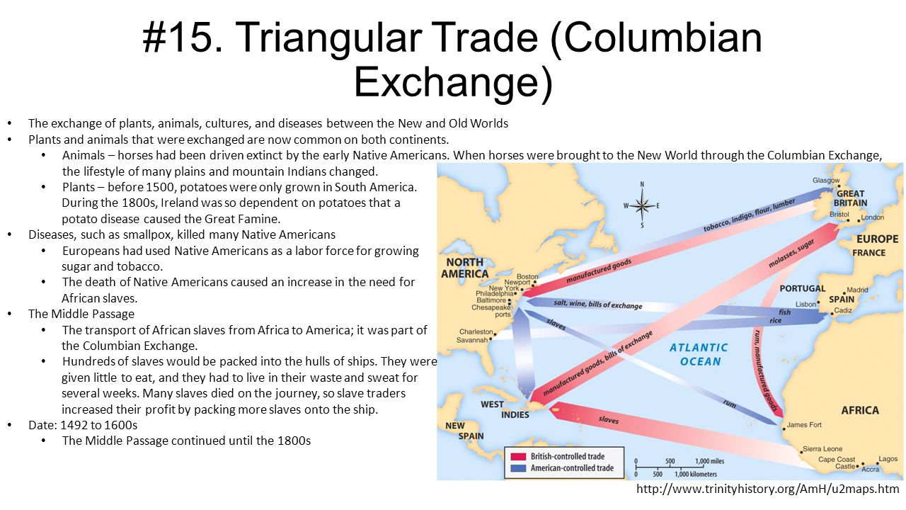 the columbian exchange was the trade Exchange helped to link the americas, africa, and europe, while huge international trade networks aided in shaping the world in these trade networks, the spice, silver, slave, and sugar.