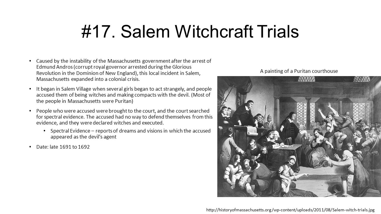 a personal account of dreaming of speaking on behalf of the accused during the salem witch trials