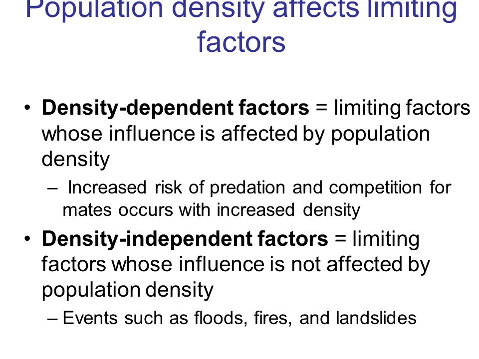 Population characteristics - ppt video online download