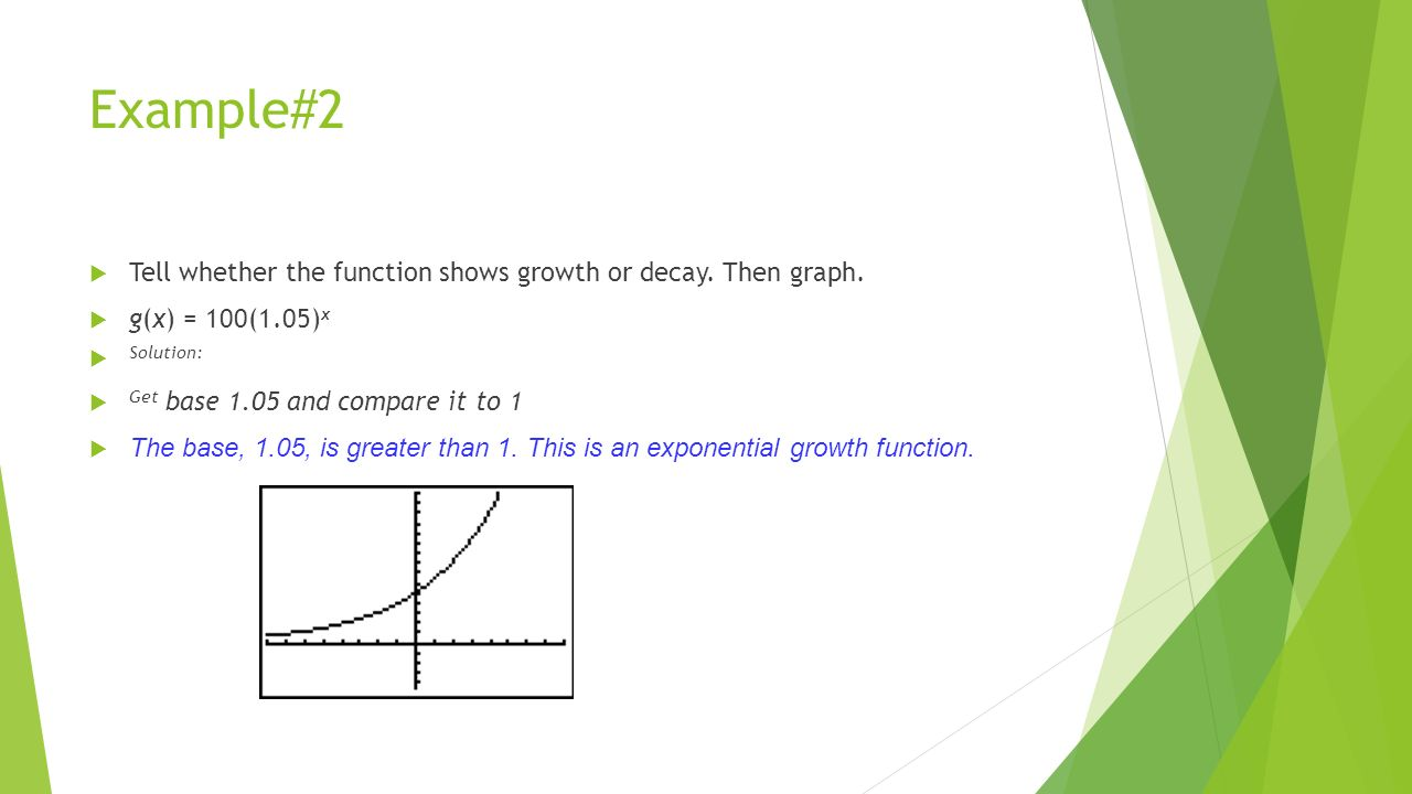 Exponential growth and decay worksheet answers