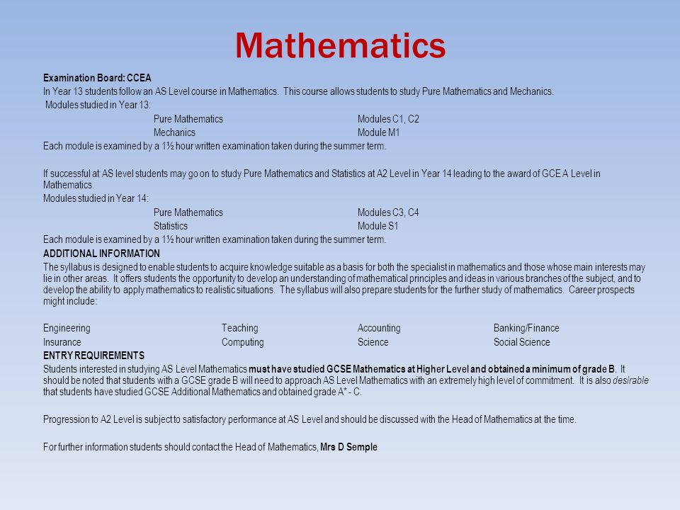 National curriculum in England: mathematics programmes of study