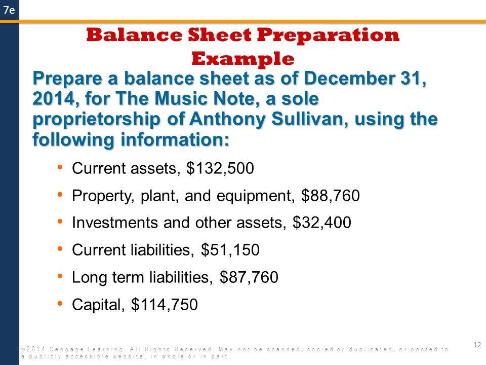 Financial Statements and Ratios ppt video online download – Balance Sheet Preparation Examples