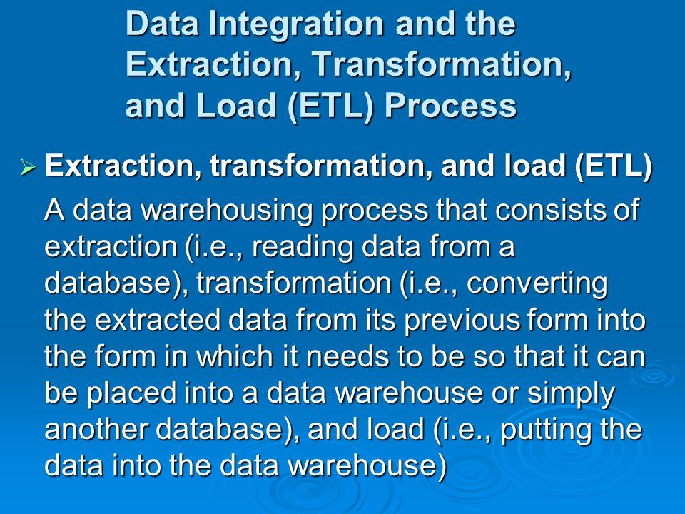etl process in data warehouse pdf