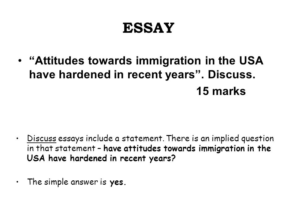the attitudes towards essay Changing attitudes to poverty, by government and society between 1834 and 1942 holly exell 12/01/2006 assignment 1 the overall aim of this essay towards.