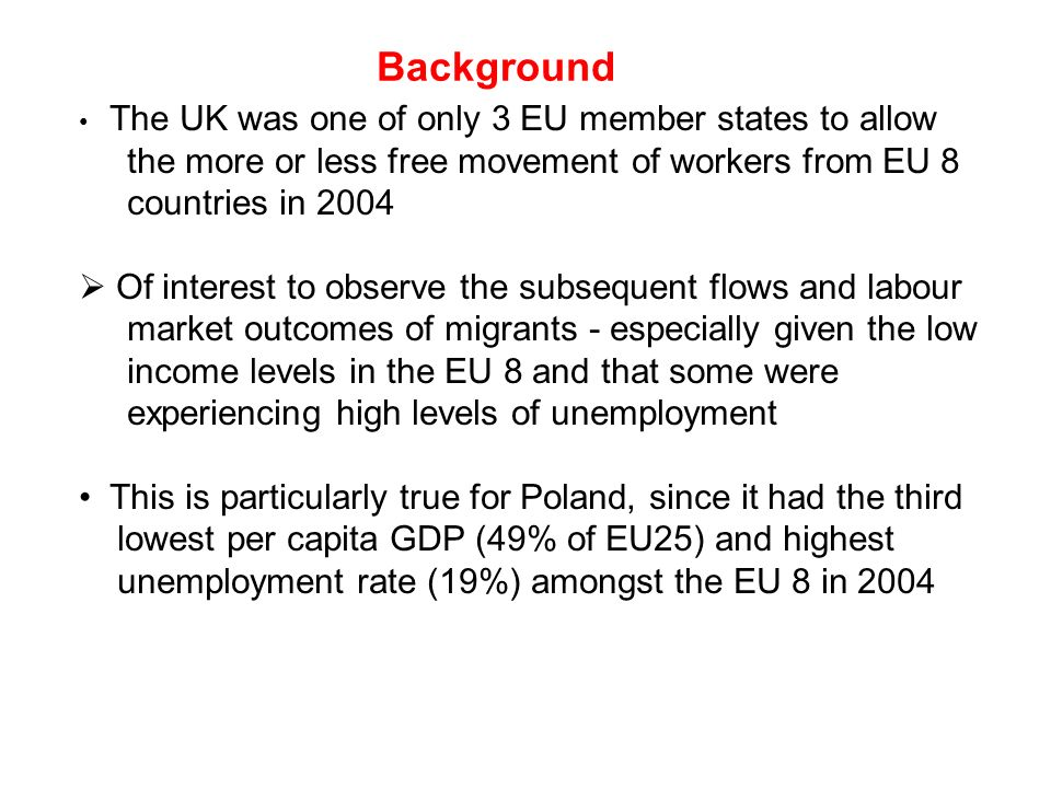 Free movement of workers in the