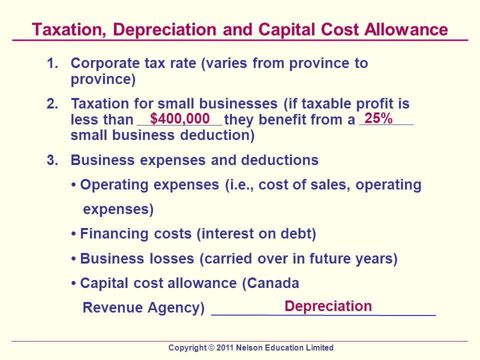 depreciation and cost There are two depreciation methods you can use for depreciating assets  the  straight line (sl) method works out depreciation on the cost price of an asset.