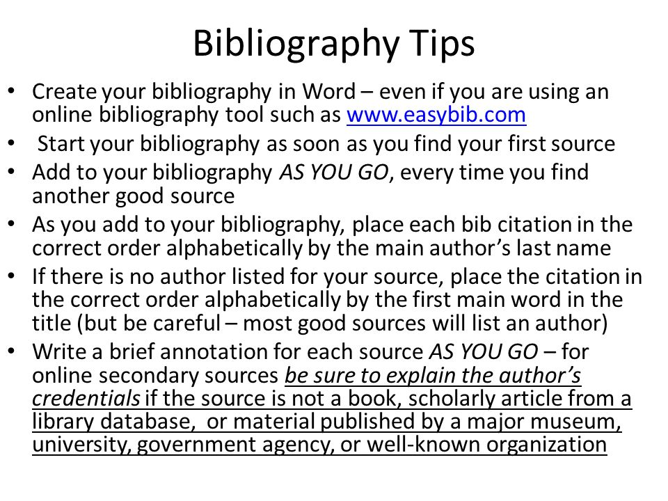 Best Photos of National History Day Annotated Bibliography     Comments