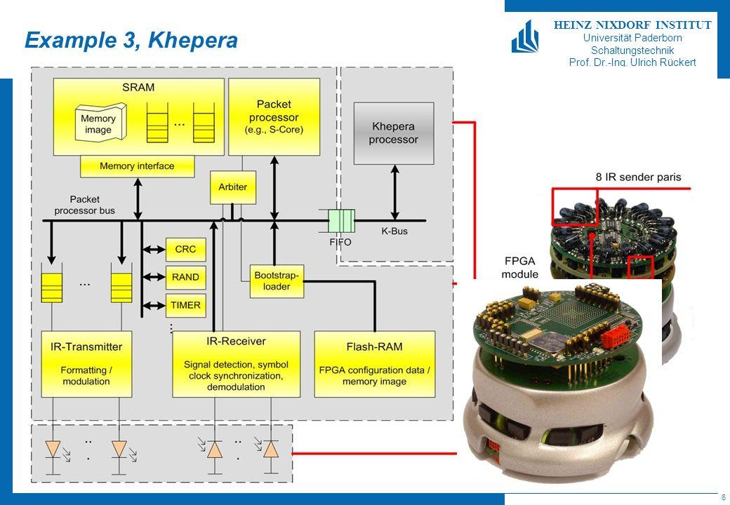 Example 3, Khepera