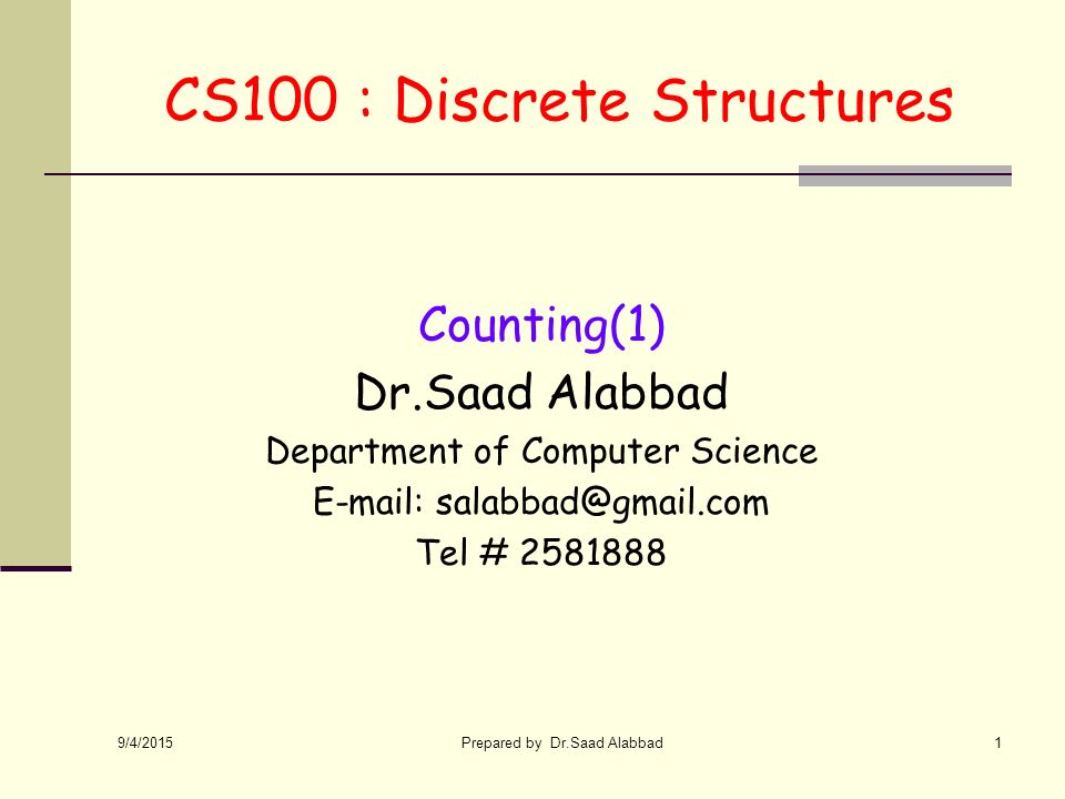 discrete structure Discrete mathematics i about the tutorial discrete mathematics is a branch of mathematics involving discrete elements that uses algebra and arithmetic it is increasingly being applied in the practical fields of.