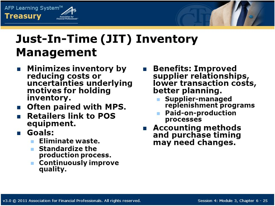 stock management just in time and Stock / inventory management the objectives of inventory management inventory is a for businesses that do not use just in time (jit) inventory management.