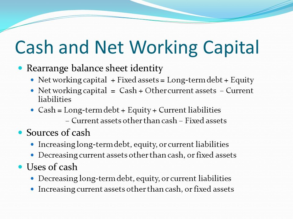 healthcare asset and short term working capital The formula for calculating working capital is straightforward, but lends great insight into the short-term financial health of a company.