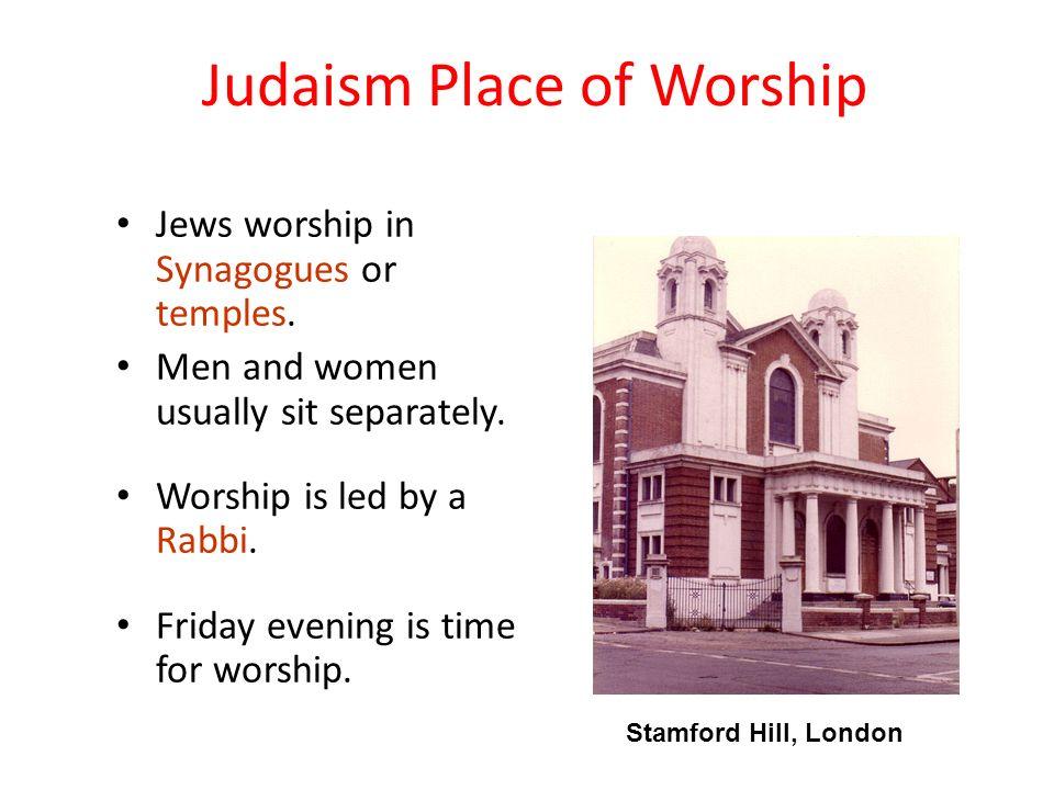 jewish places of worship
