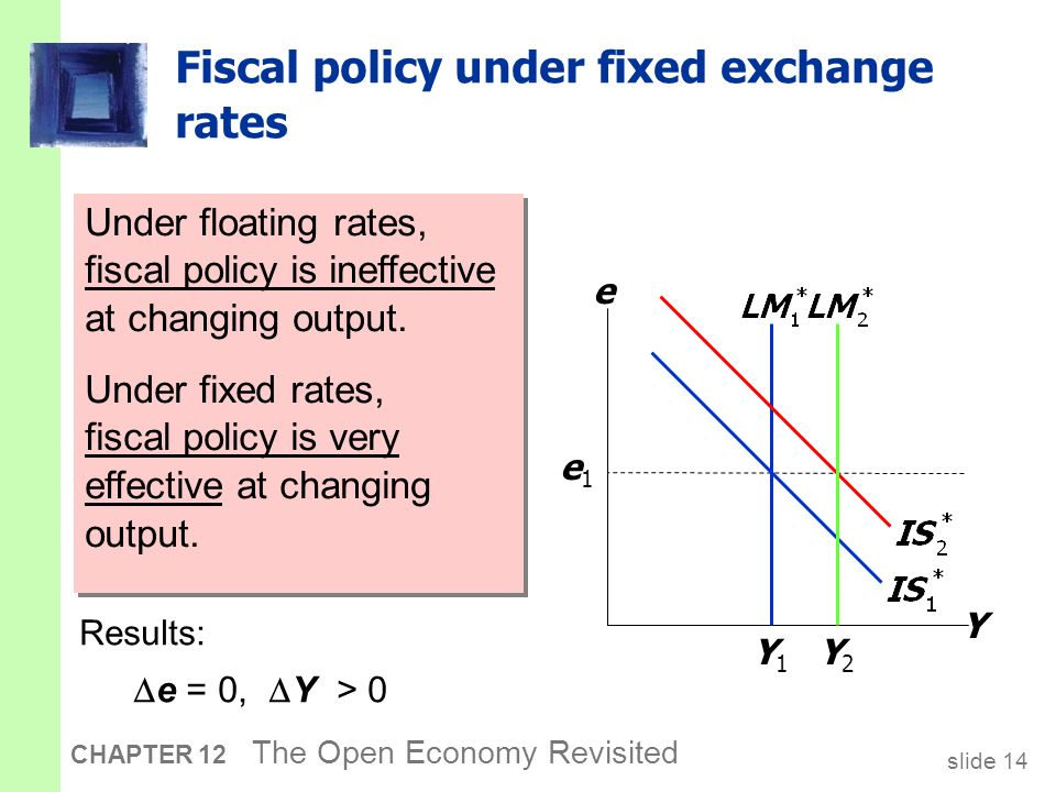 exchange rate policy at the monetary In a fixed exchange rate regime, the only monetary policy is to maintain the exchange rate this type of regime is particularly relevant for a mineral exporting economy as it can lead to lower inflation.