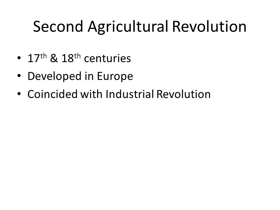 an overview of the agricultural and industrial revolution in europe Industrial revolution see also, europe  the industrial revolution grew more  most of the world's population still worked in primitive agricultural.