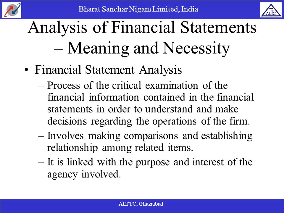 Analysis Of Financial Statements Cash Flow Statements  Ppt Download
