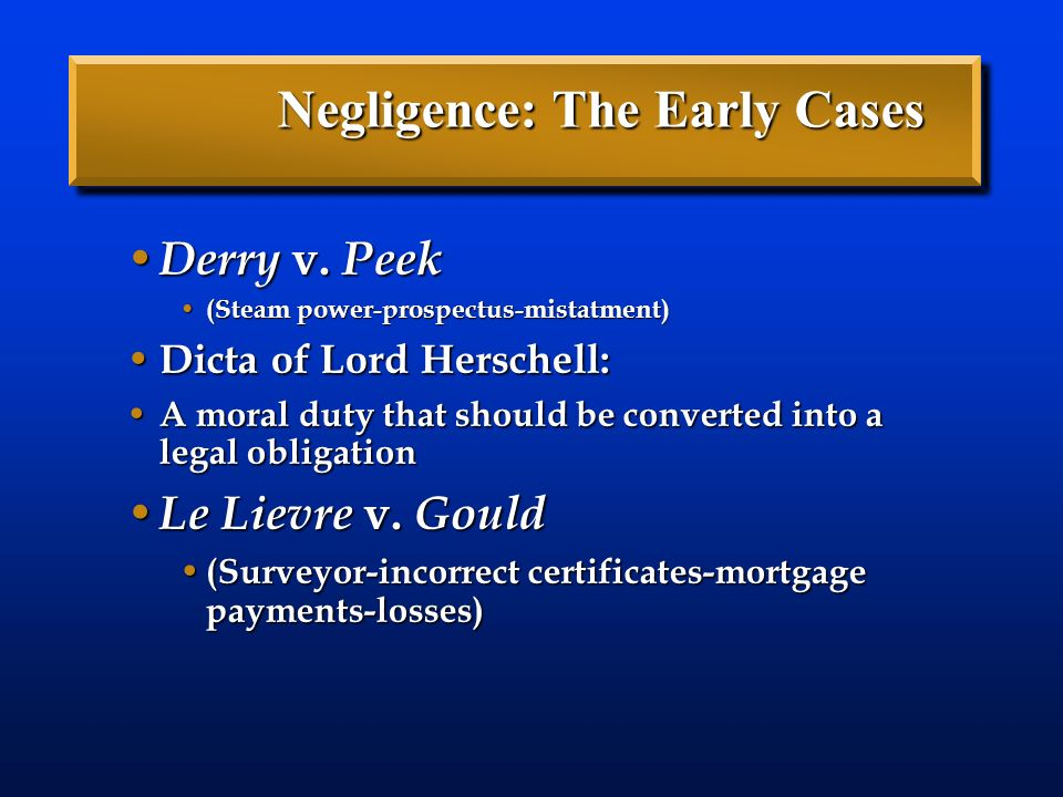 how to answer a query on negligence of duty