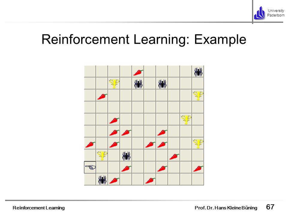 Reinforcement Learning: Example