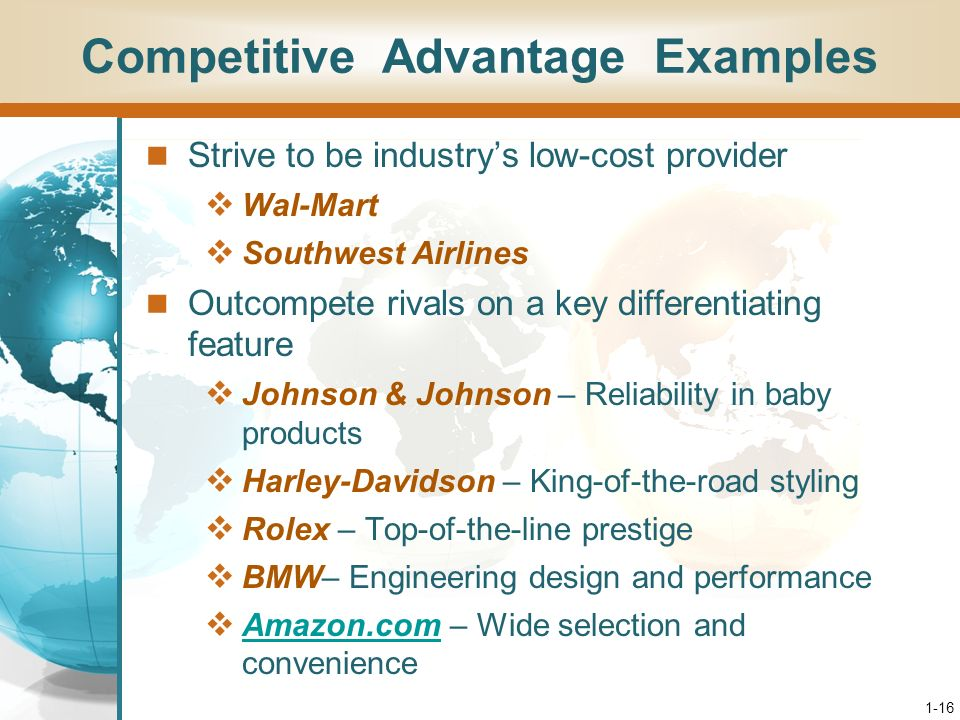 assignment 1 identify your competitive advantage Identify management tactics you will implement  mbm, single-use or standing plans, competitive advantage,  assignment 4: using your completed action plan,.