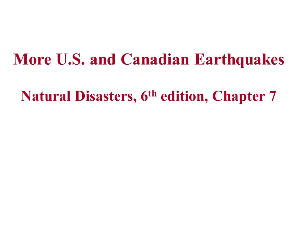 natural disasters canadian edition pdf