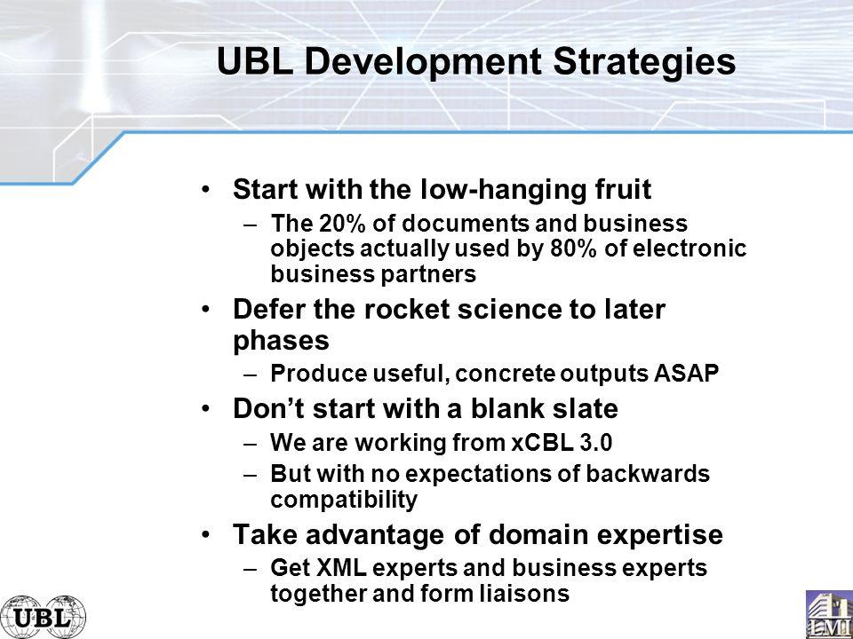 Universal business language realizing ebusiness xml ppt download 26 ubl development strategies fandeluxe Gallery