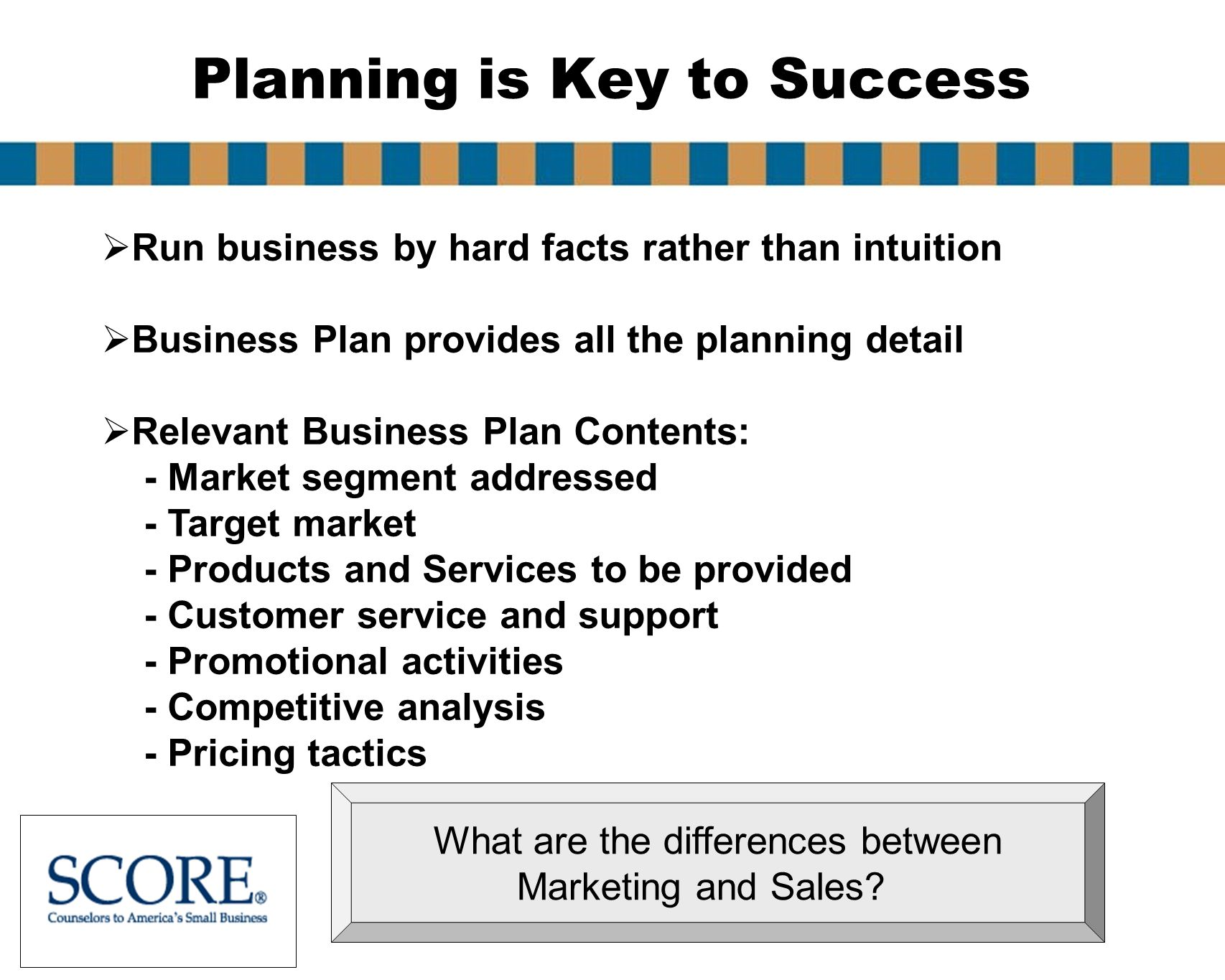 Score Business Plan Help