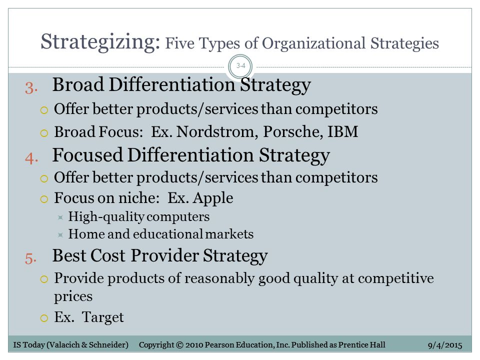 focus differentiation strategy for dell Differentiation once company has selected a focus strategy as its main approach: focus is not normally enough on its own but whether company use cost focus or differentiation focus, the key.
