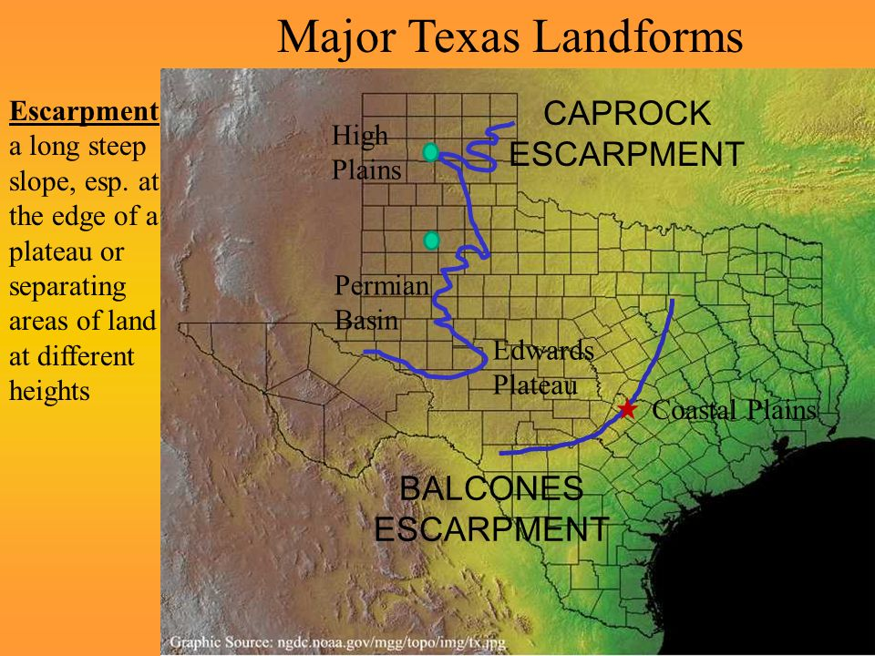 All About Texas Landforms Reader from 2 Crazy Texas Teachers on ...