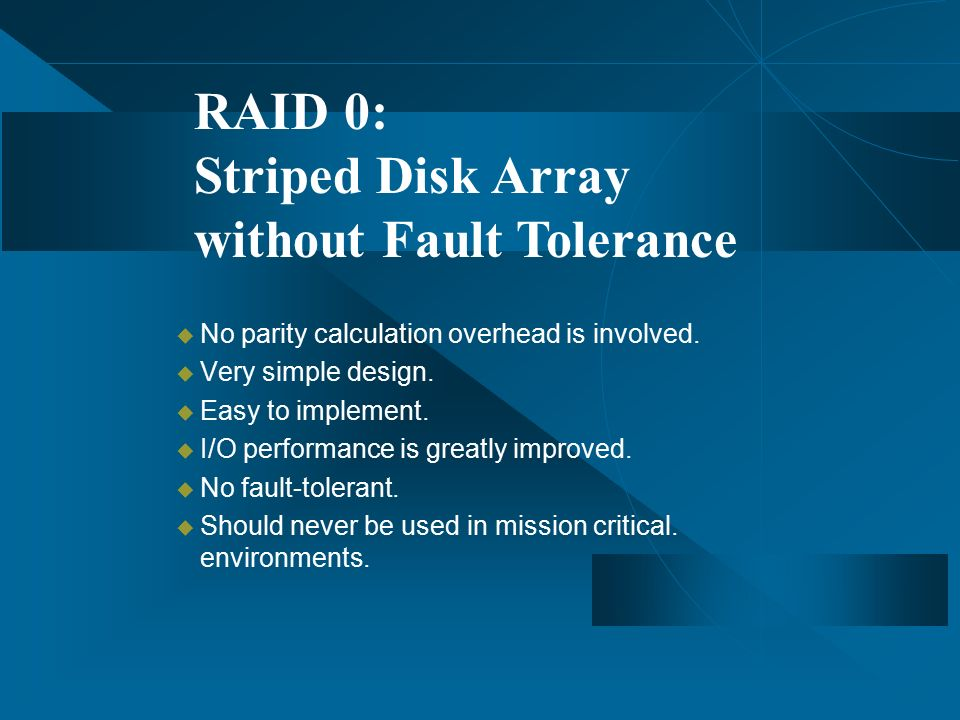 4 Without Fault Tolerance