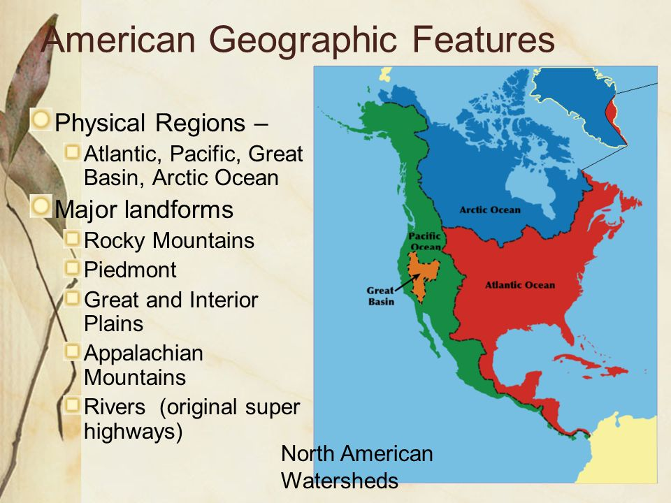 The United States And Canada Ppt Video Online Download - Physical features of canada and the united states