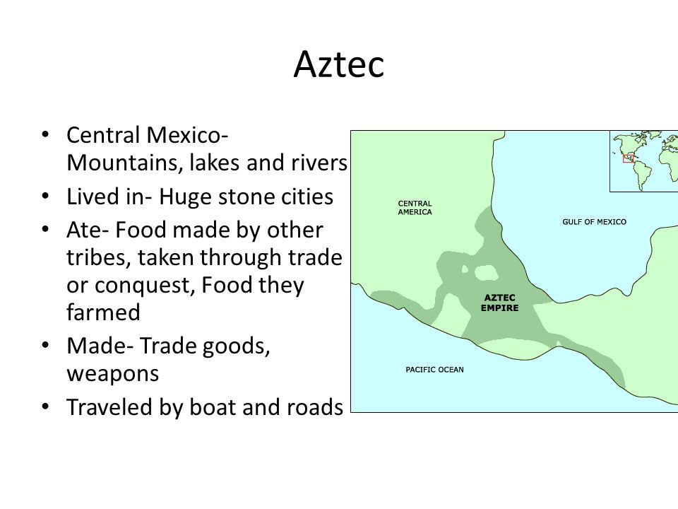 an analysis of the aztec culture and the central america Aztec warriors were sometime around 1100 ce the city-states or altepetl which were spread over central mexico began to aztec civilization.