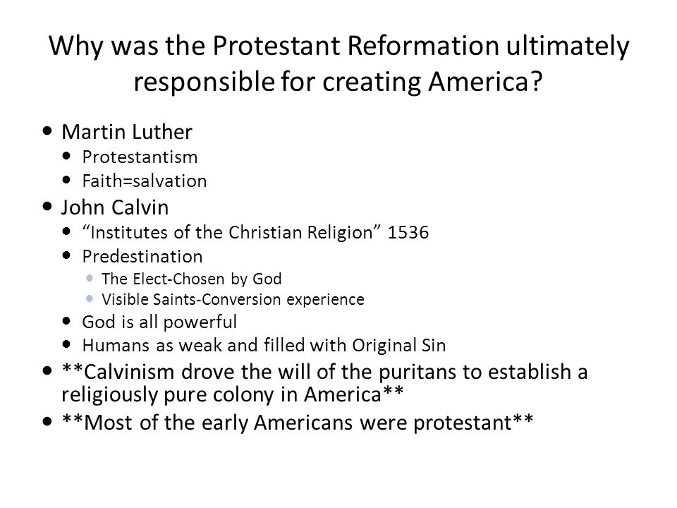 protestantism and republicanism in america Evangelical church: republican party in the 19th century evangelical churches were begun in latin america by protestant missionaries who were largely from.