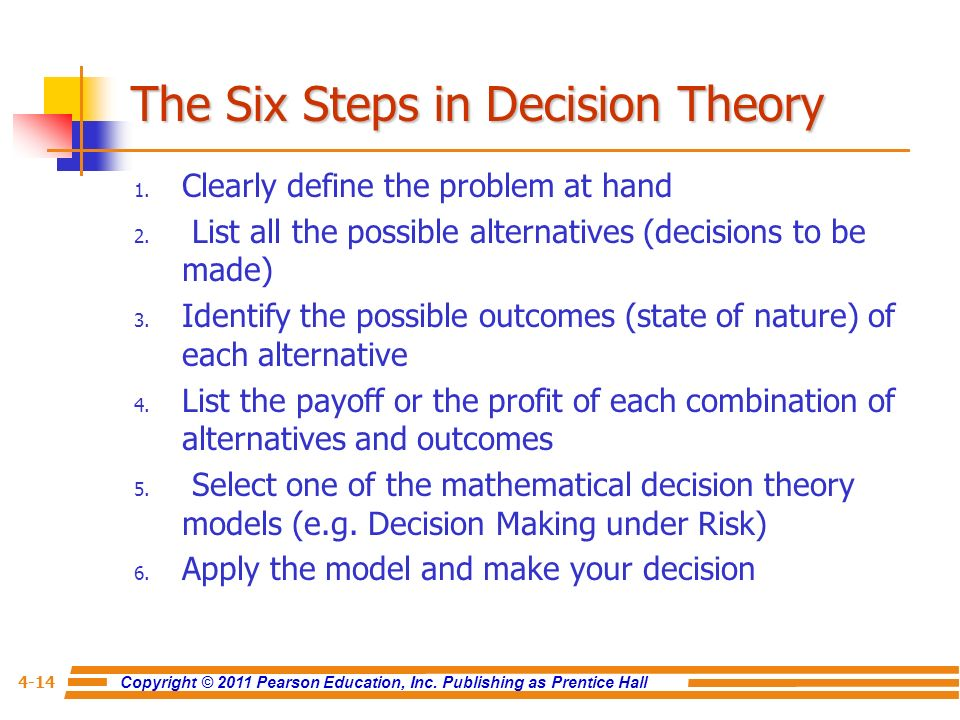 decision theory under risk An international society for the advancement of economic theory in its relation to statistics and mathematics.
